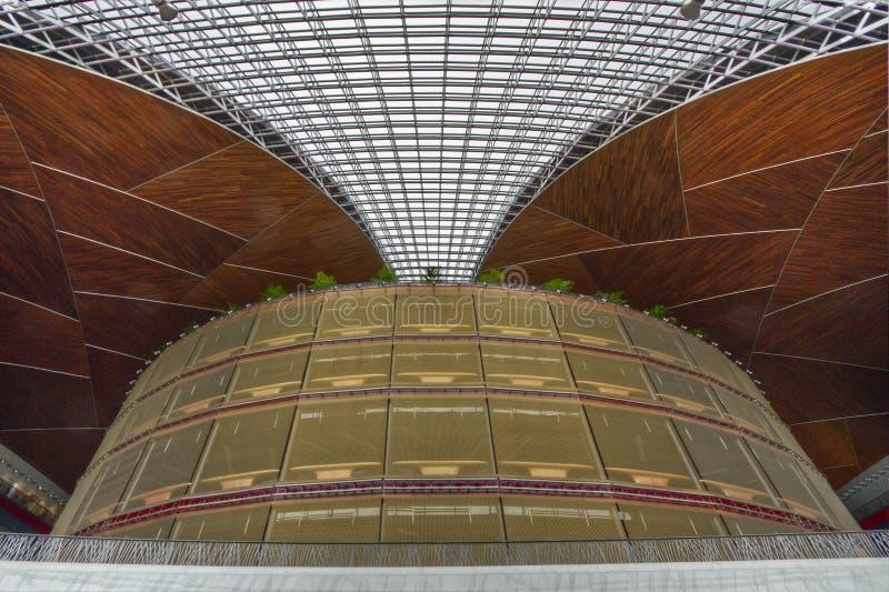 Teatro nacional - Beijing imagem de stock