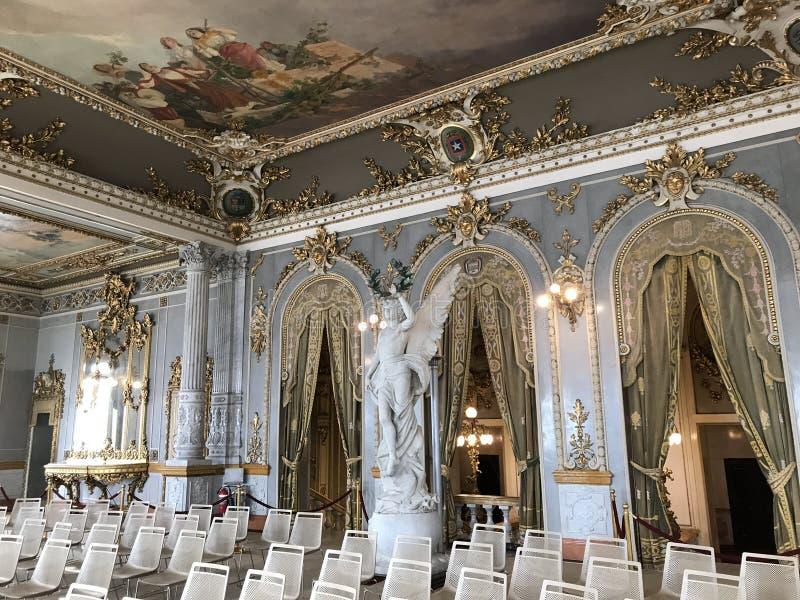 Teatro nacional calidad 2 interiores de Panamá de la mejor fotos de archivo libres de regalías