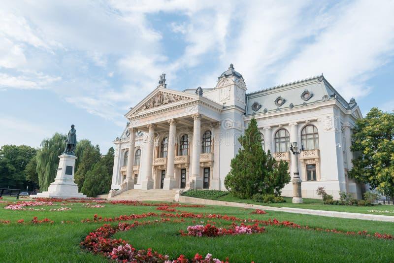 Teatro nacional de Iasi, Romênia imagens de stock royalty free