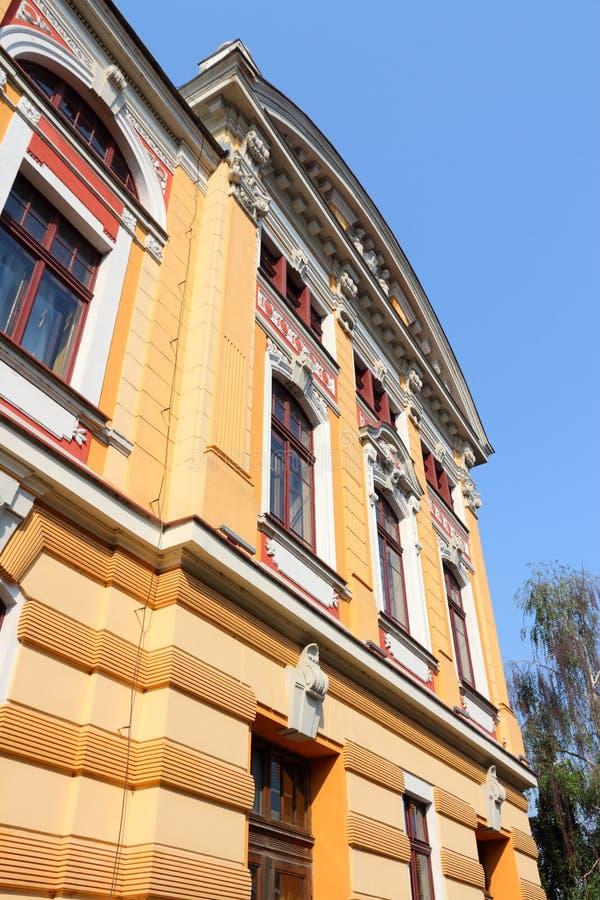 Teatro nacional de Roménia fotografia de stock