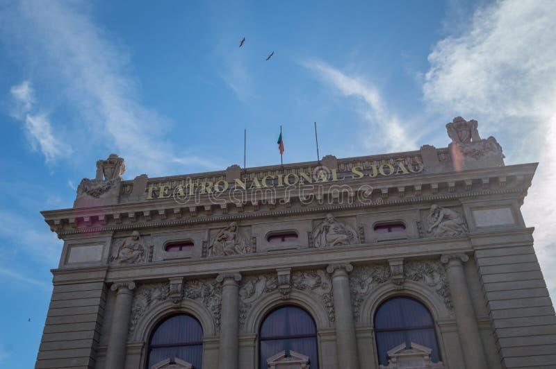 Teatro nacional de São João foto de stock