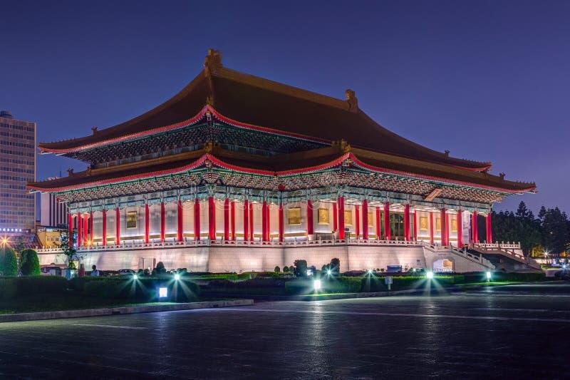 Teatro nacional em Taipei, Formosa foto de stock royalty free