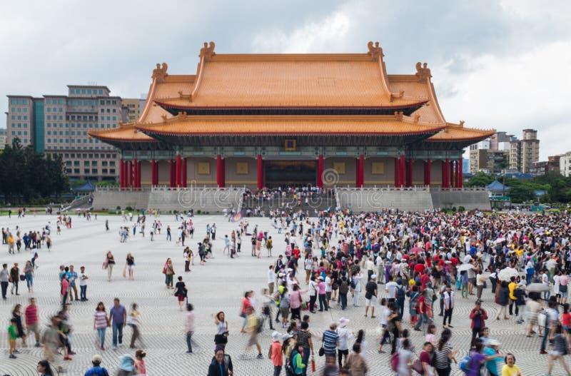 Teatro nacional Liberty Square Taipei Taiwan fotografia de stock