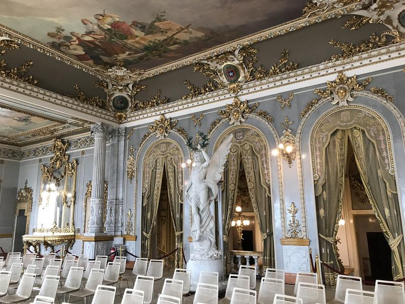 Teatro nacional qualidade de Panamá 2 interiores da melhor fotos de stock royalty free