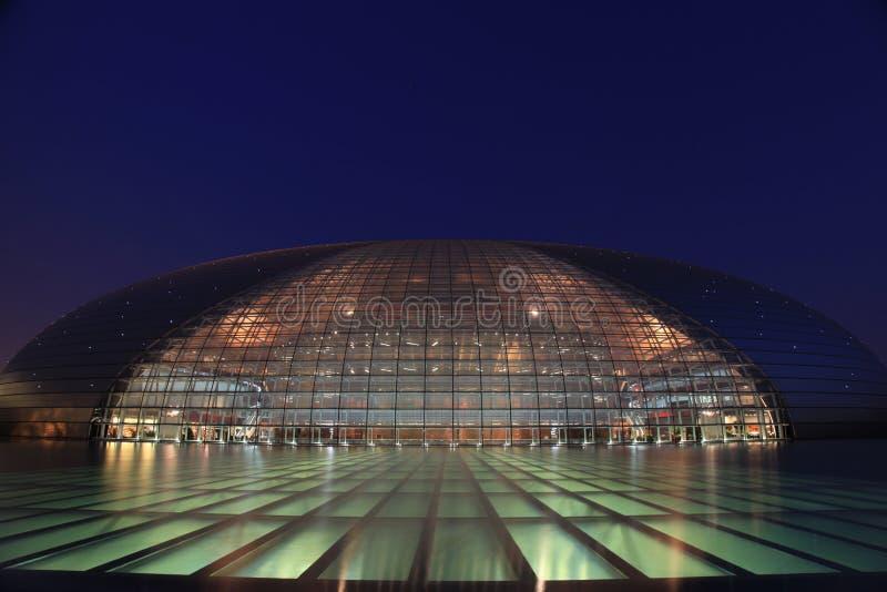 Teatro nazionale di Pechino grande fotografia stock libera da diritti