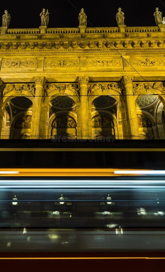 Teatro nazionale a Praga immagini stock