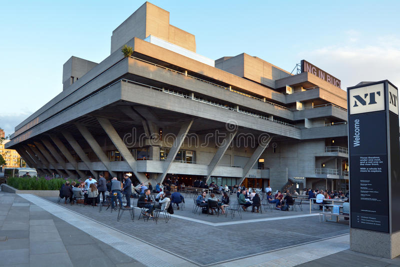 Teatro nazionale reale Londra Regno Unito fotografie stock