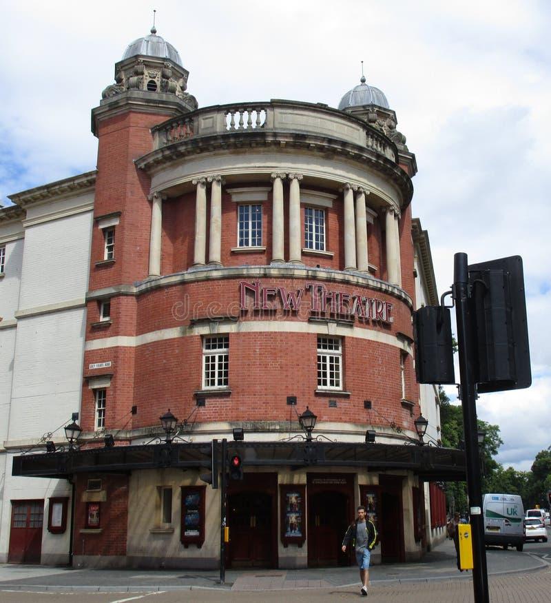 Teatro novo imagens de stock royalty free