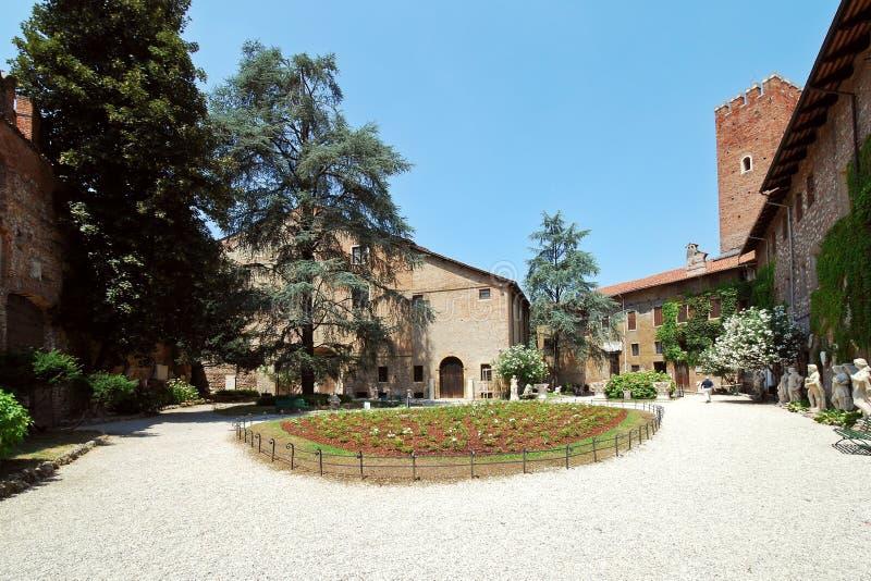 Teatro Olimpico in Vicenza, Italy stock image