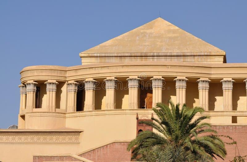 Teatro real en Marrakesh foto de archivo