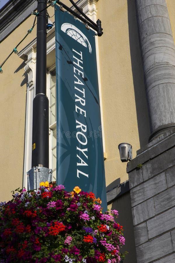 Teatro real en Waterford fotos de archivo libres de regalías