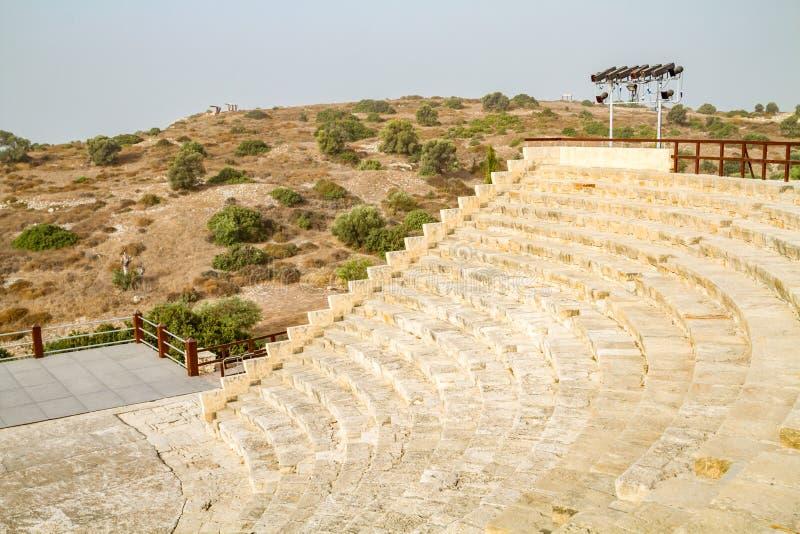 Teatro romano antico, Cipro immagine stock