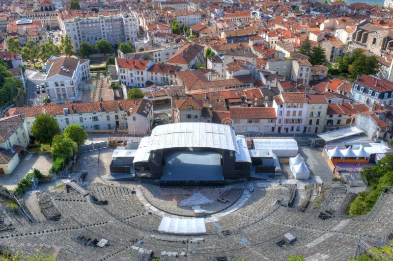 Teatro romano de Vienne imagen de archivo libre de regalías