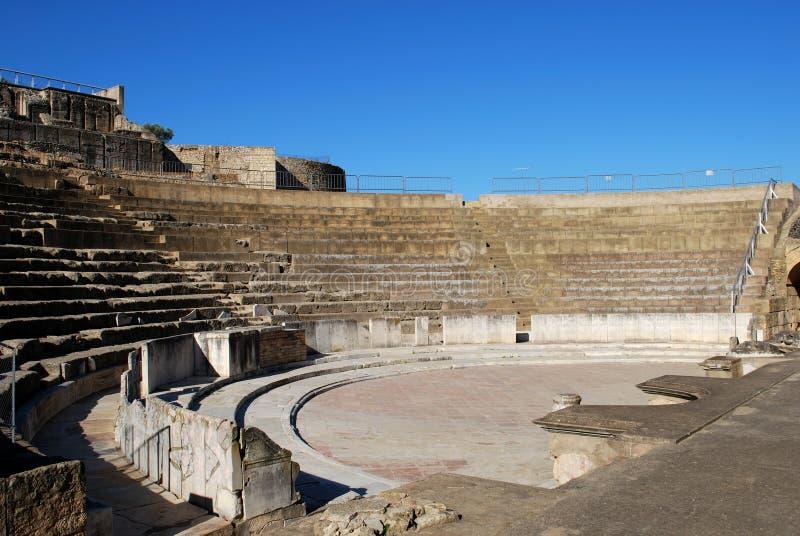 Download Teatro Romano, Santiponce, Spain. Foto de Stock - Imagem de assento, estágios: 26520500