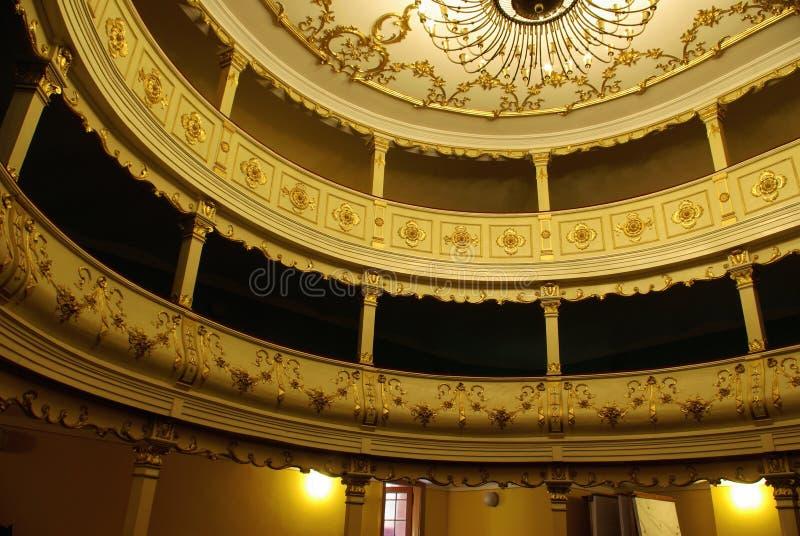 Teatro romeno foto de stock