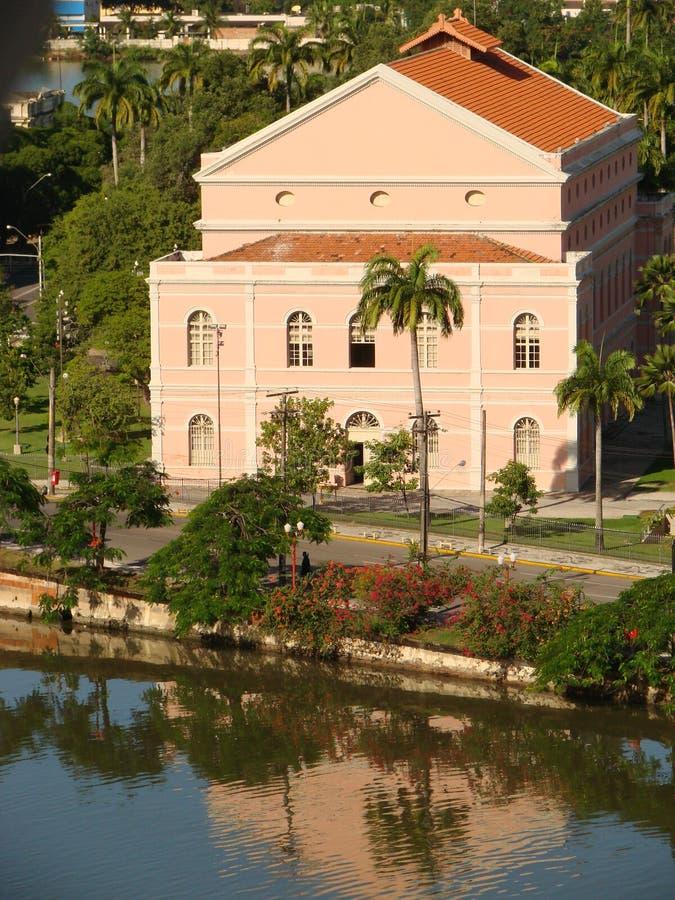 Teatro Santa Izabel royalty free stock photo