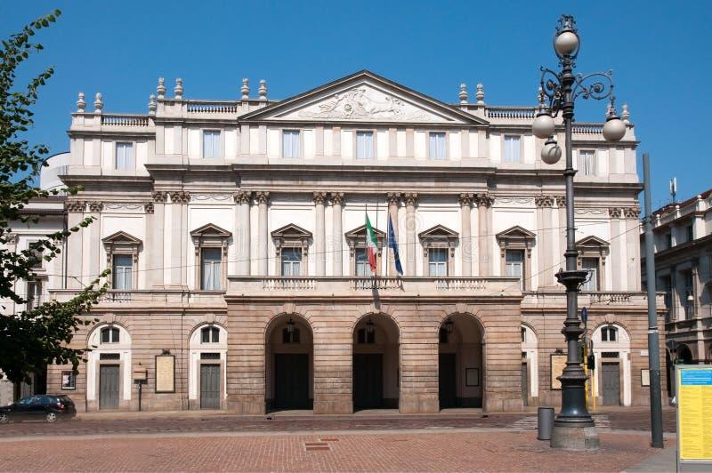 teatro scala милана Италии alla стоковое фото