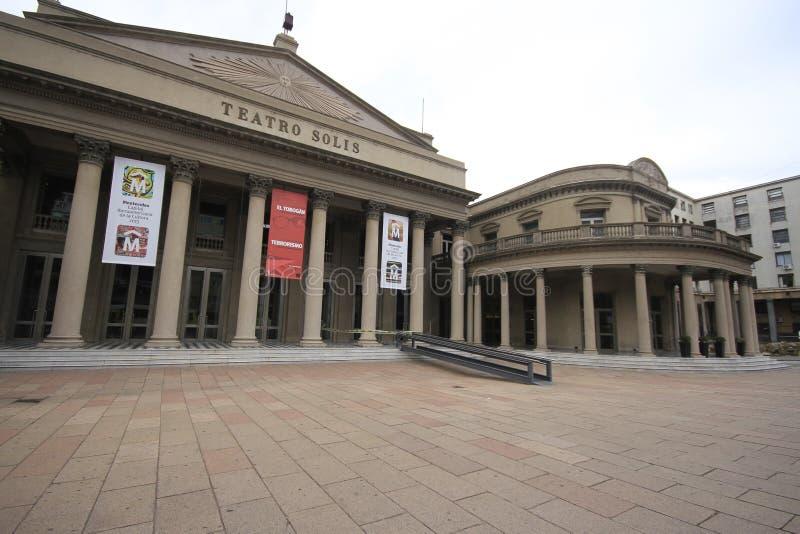 Teatro Solis Montevideo Uruguay lizenzfreie stockfotos