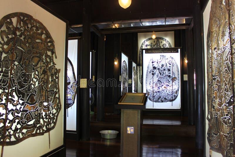 Teatro tailandês da sombra, Nang Yai Cultare fotos de stock royalty free