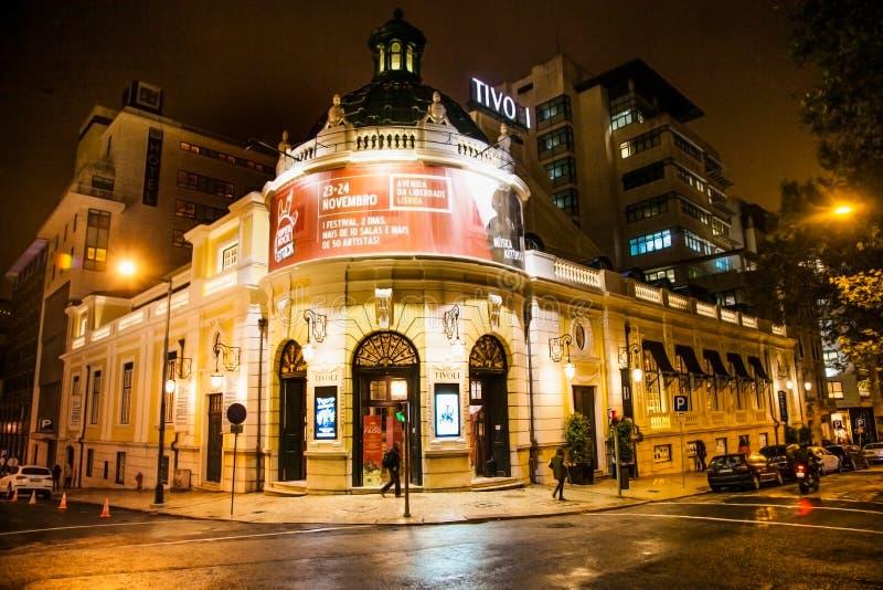 Teatro Tivoli BBVA à Lisbonne, Portugal photos libres de droits