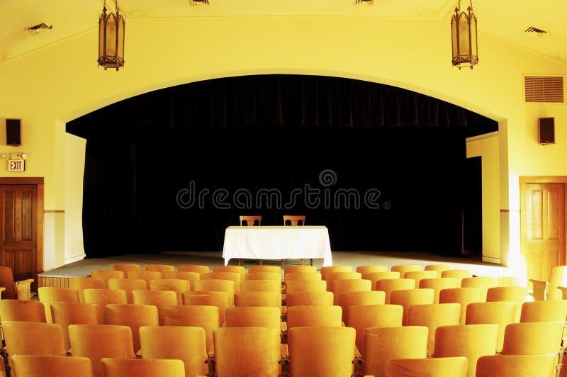 Teatro vacío 1 foto de archivo libre de regalías