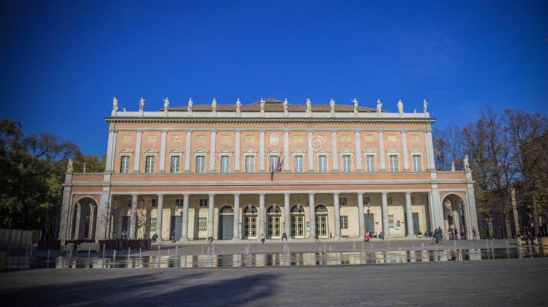 Teatro Valli Reggio Emilia fotografia stock libera da diritti