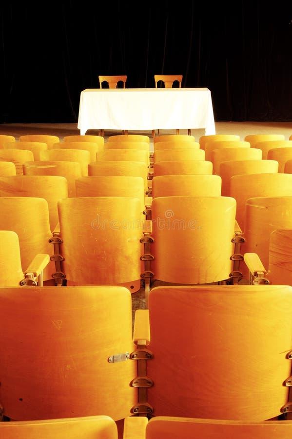 Teatro vazio 4 fotos de stock royalty free