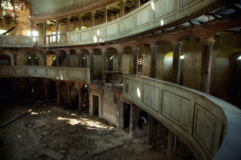 Teatro velho imagens de stock