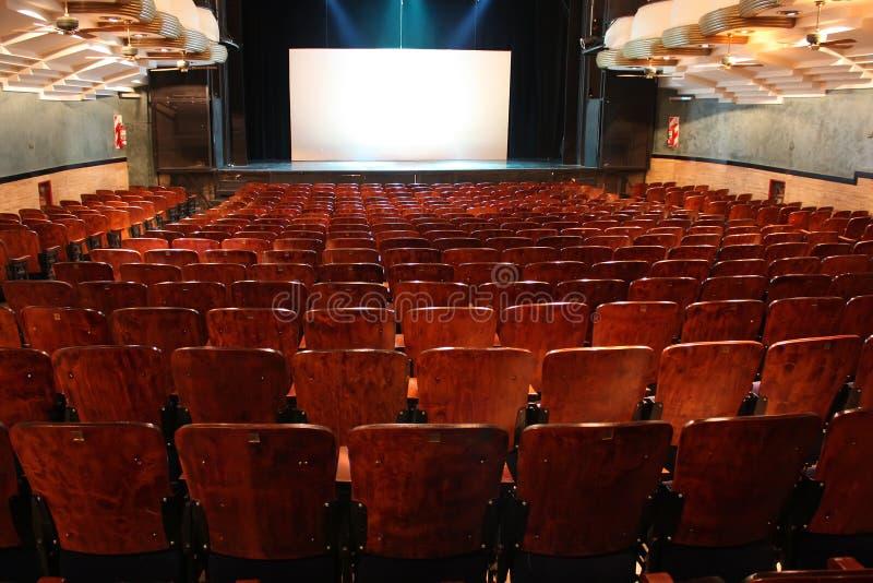 Teatro vuoto fotografia stock libera da diritti