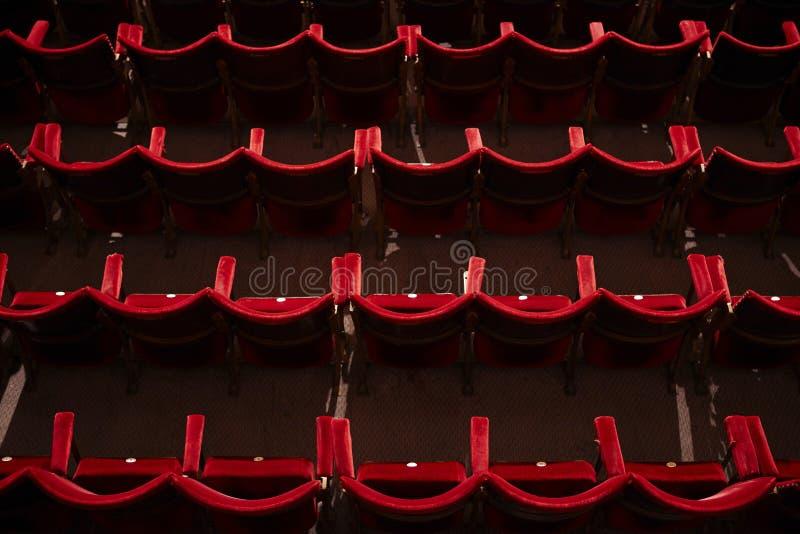 Teatro vuoto Corridoio immagine stock libera da diritti