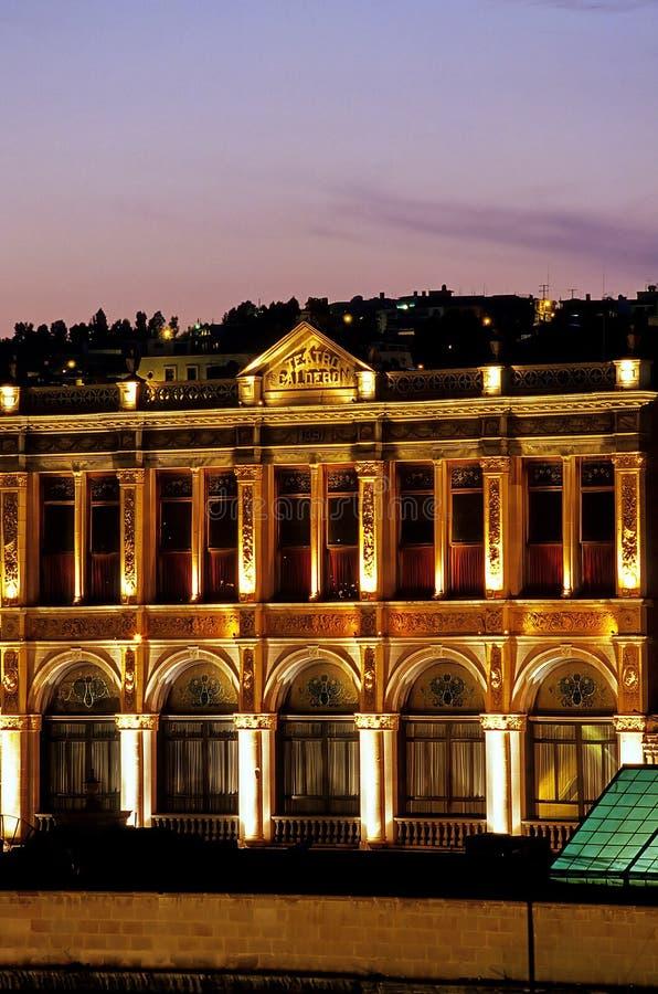 Teatro Zacatecas, México fotografía de archivo libre de regalías