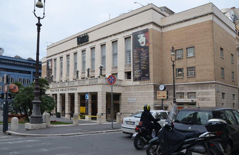 Teatrodell 'Operadi Rome stock foto's
