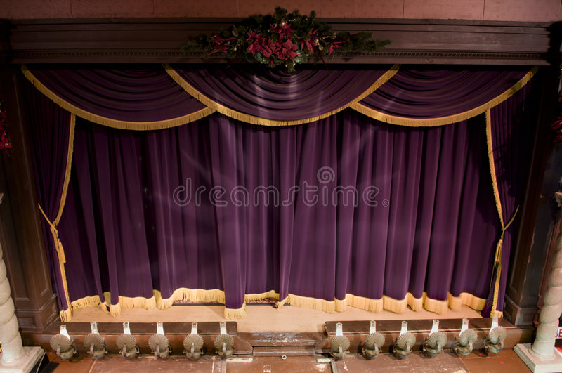 teatru rocznik zdjęcie royalty free