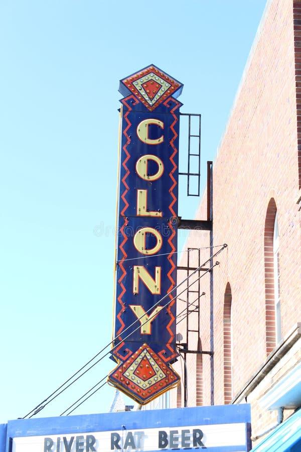 Teatru znak obrazy royalty free
