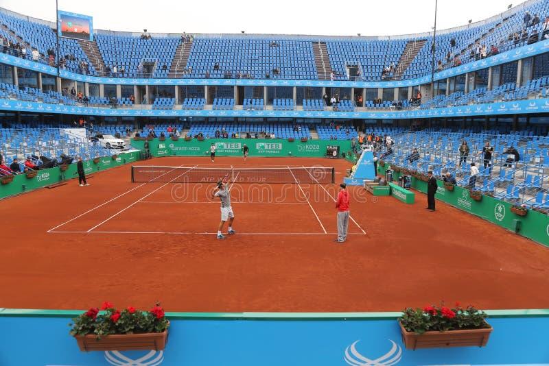 Download TEB BNP Paribas Open Istanboel Redactionele Afbeelding - Afbeelding bestaande uit sporten, atleet: 54084410