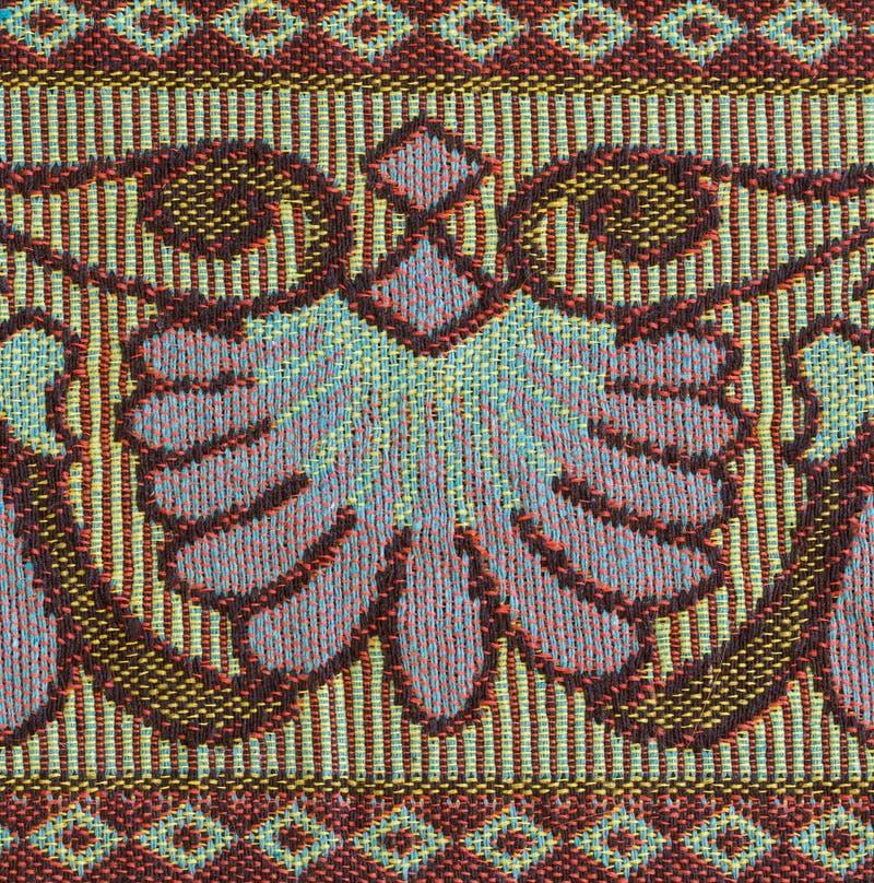 Tecelagem do algodão foto de stock
