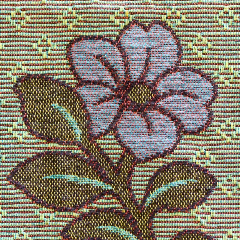 Tecelagem do algodão fotografia de stock