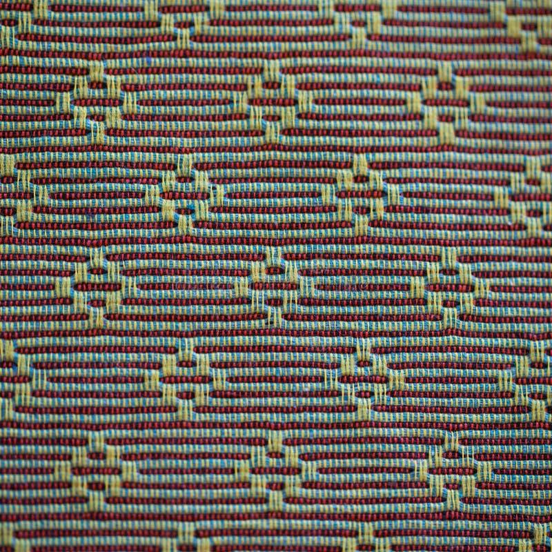 Tecelagem do algodão imagens de stock