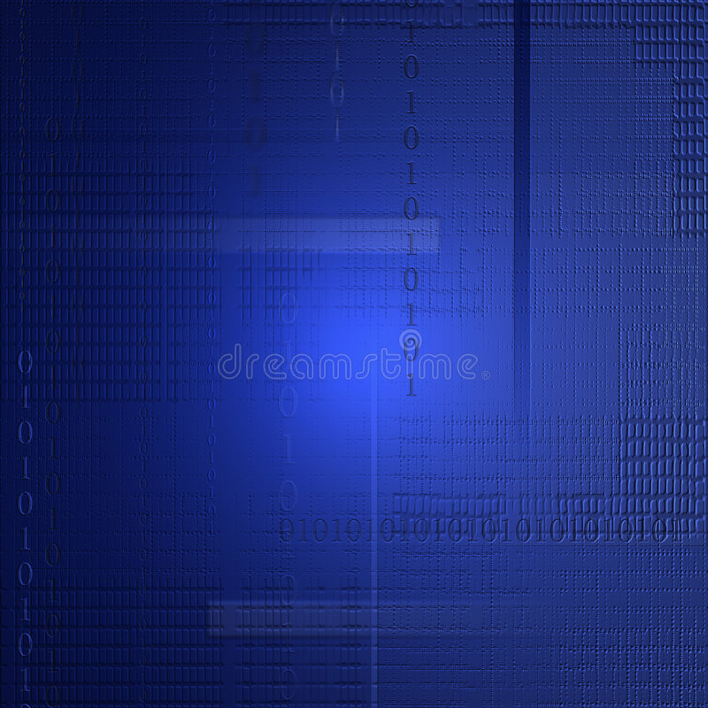 Tech Background. A nicely textured background featuring binary code