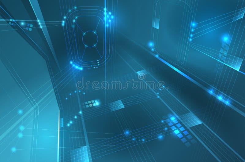 Eye Of Technology Stock Vector  Illustration Of Science