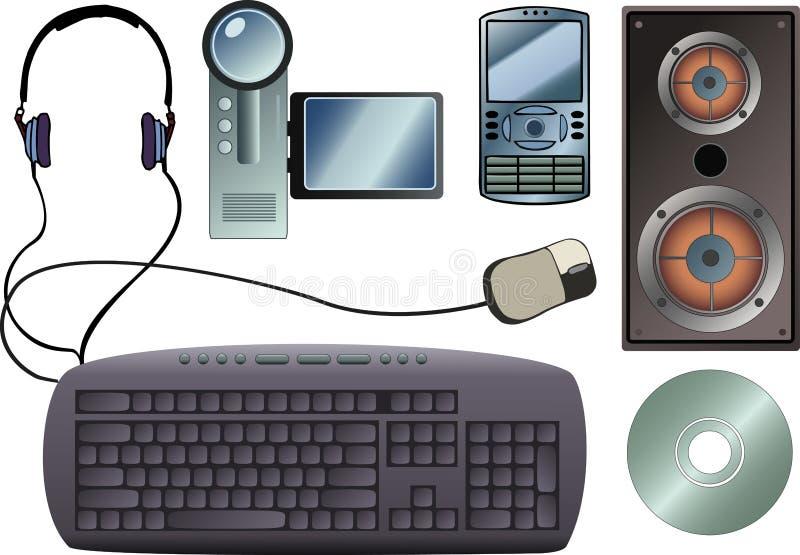Tech Gadgets Stock Photography