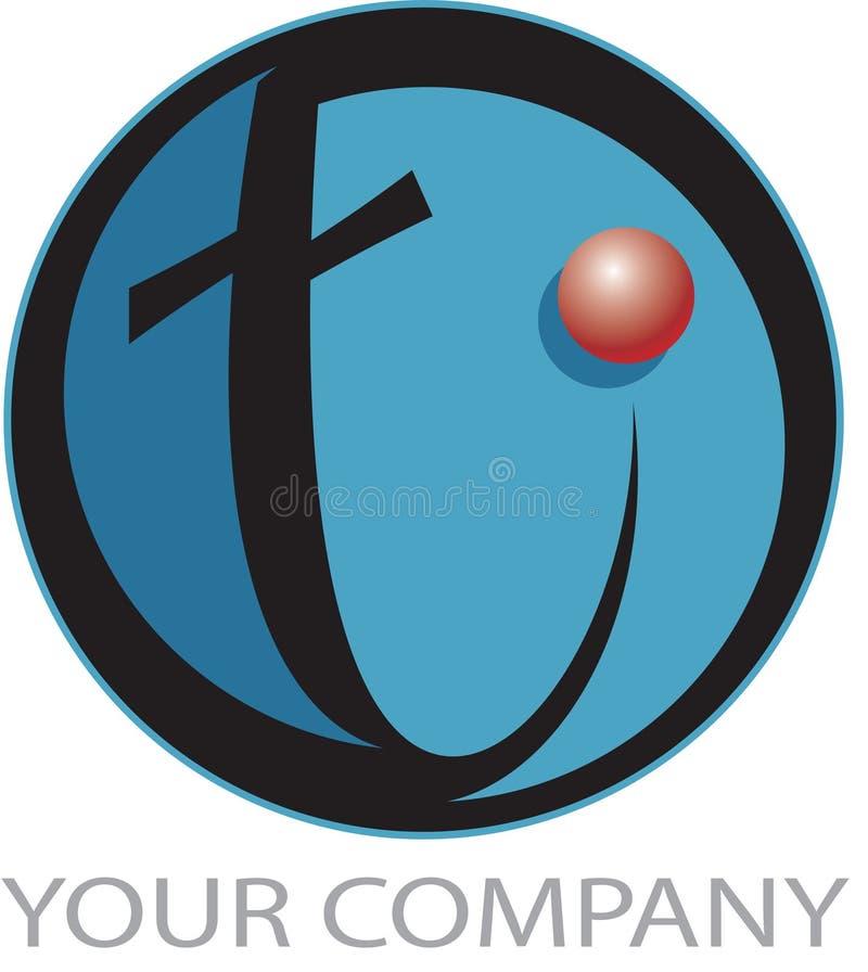 Tech logo stock illustration