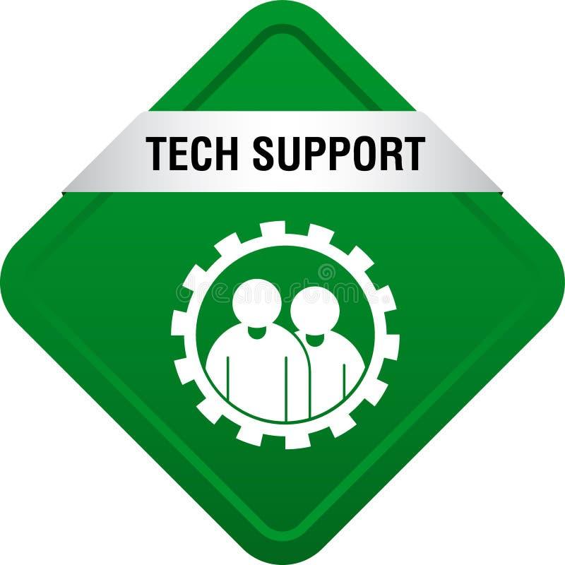 Tech Support Icon Button Stock Illustration  Illustration