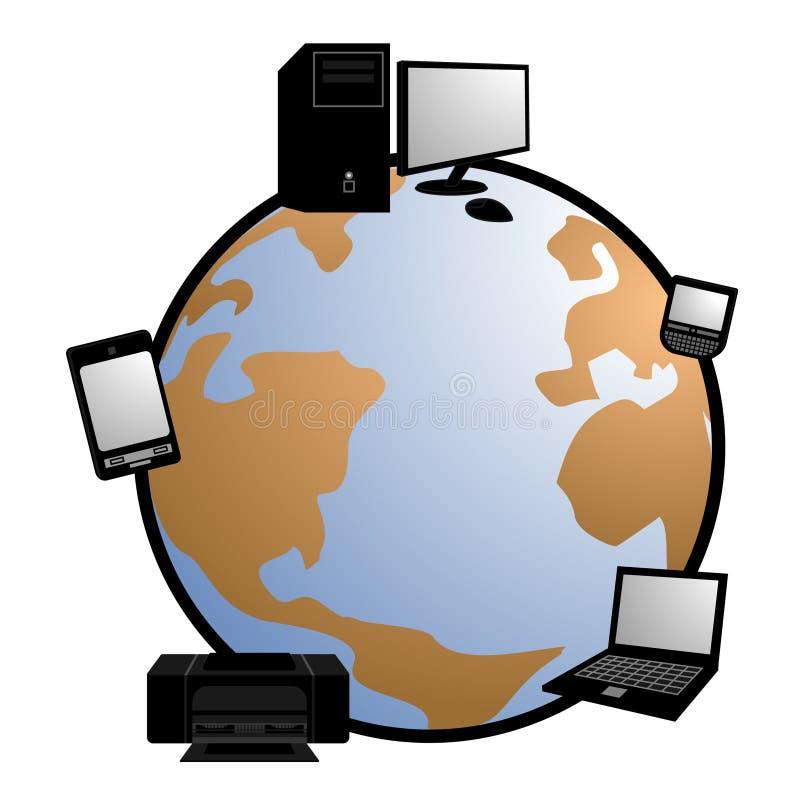 Download Tech world stock vector. Image of innovation, development - 21588245