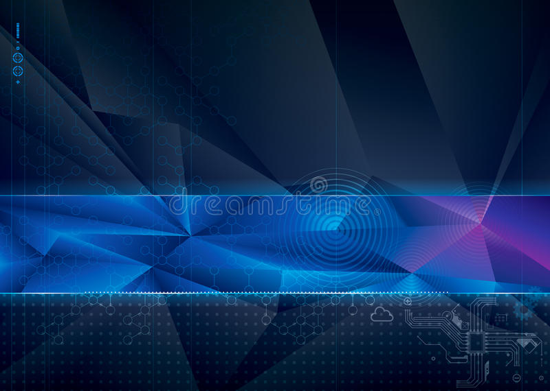 Technical Background. stock image