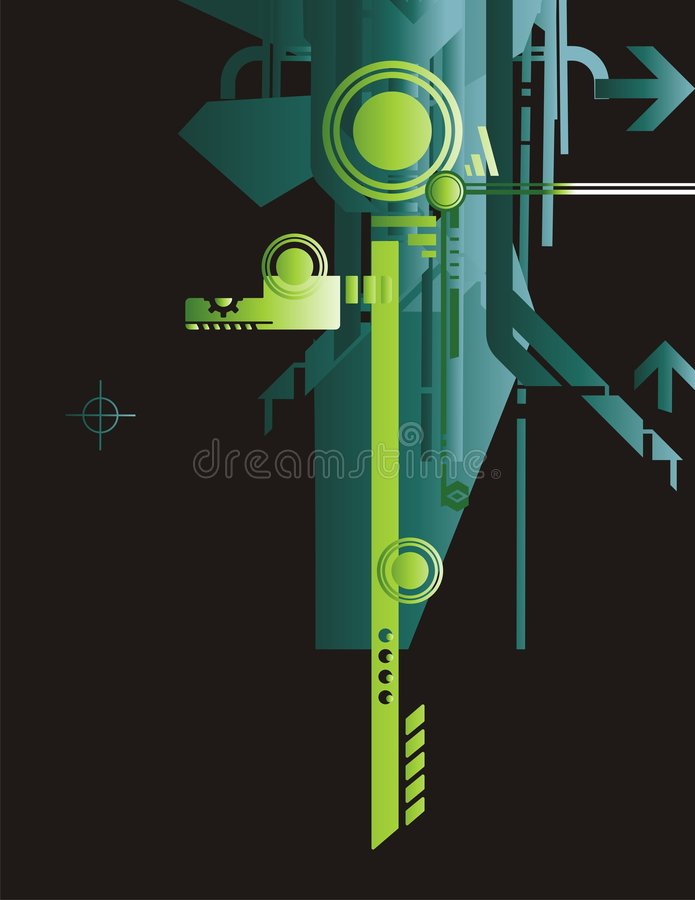 Technical Background Series vector illustration