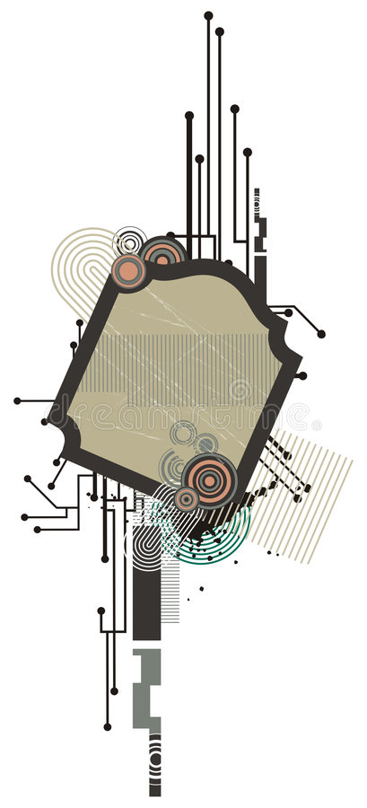 Download Technical Background Series Stock Illustration - Image: 2506873