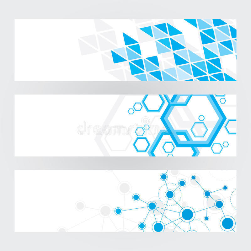 Download Technical Banners stock vector. Illustration of creative - 30465114