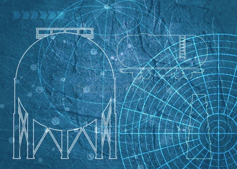 Technical blueprint background stock illustration illustration of download technical blueprint background stock illustration illustration of architect draft 98932729 malvernweather Images