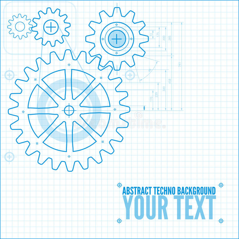 Technical blueprint illustration stock vector illustration of download technical blueprint illustration stock vector illustration of industry engineer 42292115 malvernweather Image collections